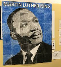 student mlk mural art from the bronx art projects for kids