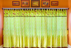 Design Your Own Curtains Tab Top Panel Curtains With Button Accents Sew4home