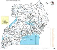 Map Of Uganda Electoral Commission To Organise And Conduct Regular Free And