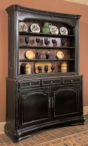 Black China Cabinet Hutch by Sideboards Amusing Black China Hutch And Buffet Black China