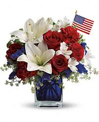 Wedding Flowers July 4th Of July Wedding Bouquet America The Beautiful By
