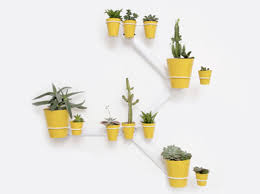Wall Hanging Planters by The Looksee Sculpture