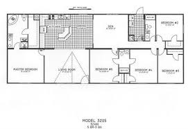 4 Bedroom Modular Home Floor Plans 5 Bedroom Floor Plan C 3205 Hawks Homes Manufactured