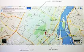 Map Of Montreal Mapping Exercise 1 Montreal And San Francisco The Relationship