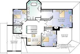 House Plans With Large Bedrooms House Plan W6804 Detail From Drummondhouseplans Com