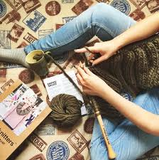 knitflix and we are knitters tv series and yarn the perfect