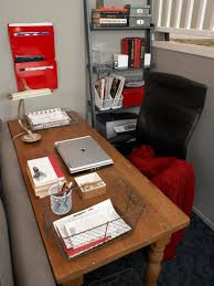how to create a stylish and organized desk space hgtv u0027s