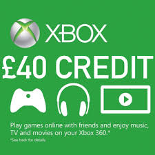 xbox 360 gift card 40 microsoft gift card xbox one xbox 360 instant delivery only