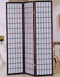 Panel Shoji Screen Room Divider - amazon com 3 panel cherry finish room divider shoji screen