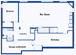 Home Floor Plans With Basement Basement Floor Plan Drawing Concept Information About Home