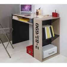 ensemble bureau biblioth ue terre de nuit bureau bibliothèque chêne et noir bu5009 bois