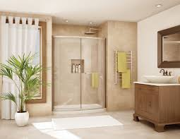 Kohler Frameless Shower Doors by Bathroom Travertine Tile Floor With Frosted Kohler Shower Doors