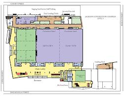 Floorplanes by Diagram Floor Plans Jackson Convention Complex