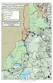 Oregon Wildfire Map by Milli Fire And Other Fires In Three Sisters Wilderness Oregon