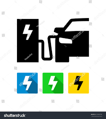 electric vehicles symbol electric vehicle charging station icon stock vector 516885790