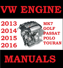 vw golf polo passat touran mk7 engine workshop repa