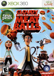 cloudy chance meatballs xbox 360 game