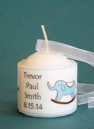 candle baby shower favors boy baby shower candle favors rocking elephant