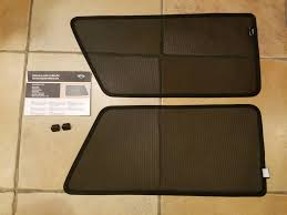 fs oem r56 back quarter window sun shades and clips north