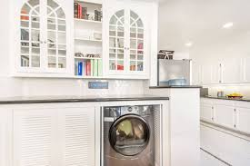 design ideas terrific black laundry room cabinets with mosaic