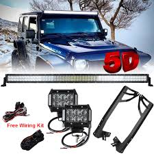 jeep jk led light bar compare prices on 52 in cree led light bar online shopping buy