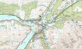 Road Map Of Scotland Location And Maps Glenshian Guest House Bed U0026 Breakfast By Fort