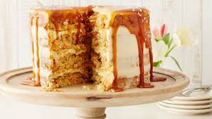 carrot cake with salted caramel cheese frosting recipe