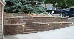 masterly install a retaining wall in build a retaining wall