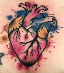 altered images tattoos part chest tattoos for