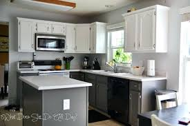 kitchen cabinets painted gray gray kitchen cabinet ideas amazing two tone white and grey cabinets