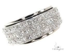 mens white gold diamond wedding bands mens jewelry rings diamond wedding bands invisible diamond ring