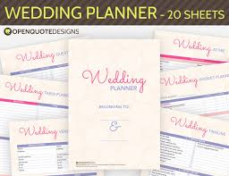 wedding organizer book wedding planner book ideas