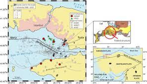 Istanbul Turkey Map Seismic U2010wave Propagation In Shallow Layers At The Gonaf U2010tuzla Site