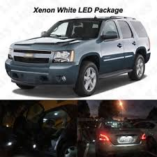 Chevy Tahoe 2014 Interior 16 X White Led Interior Bulbs License Plate Lights 2000 2014