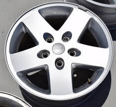 jeep wrangler sport rims jeep wrangler sport 17 inch aluminum alloy oem factory wheel