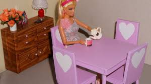 Monster High Doll House Furniture How To Make A Table For Doll Monster High Eah Barbie Etc