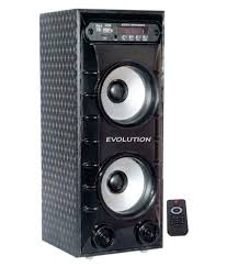 home theater system snapdeal buy evolution kart tower 4 component home theatre system online at