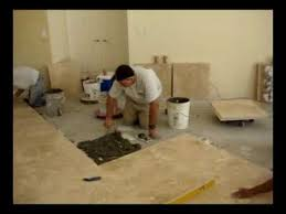 Installing Travertine Tile How To Install Travertine 24x24 Latte