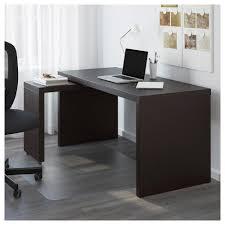 Wo Schreibtisch Kaufen Malm Schreibtisch Mit Ausziehbarer Platte Schwarz Braun 602 141
