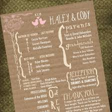 Rustic Wedding Program Fans 7 Best Images Of Rustic Country Wedding Programs Rustic Wedding