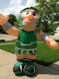 image gemmy university of michigan spartans 8 u0027 u0027 u0027sparty u0027 u0027 mascot