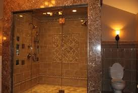 bathroom 2 person shower marble two person dual shower