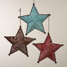 Cowboy Christmas Decorating Ideas Kurt Adler Western Star Ornament Western Christmas Ornaments