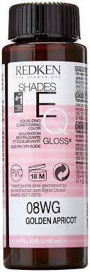 golden apricot hair color amazon com redken shades eq gloss for women hair color golden