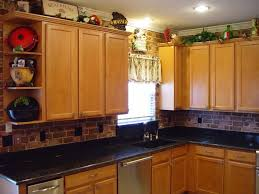kitchen decorating ideas for above kitchen cabinets storage over