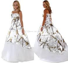 white camo wedding dress for a formal wedding getswedding