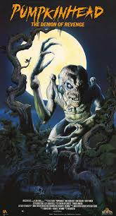 the horrors of halloween pumpkinhead 1988 artwork posters