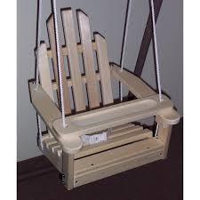 prairie leisure kiddie adirondack chair swing hayneedle