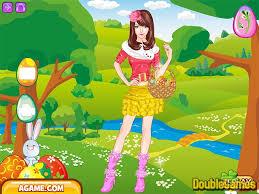 enjoy easter dress up online game