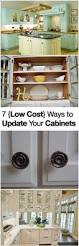 Ideas To Update Kitchen Cabinets Big Kitchen Makeover On A Little Budget Doors Glass And Kitchens